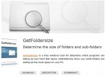 GetFoldersize the Fast Handy Tool for Displaying Files and Folders Sizes